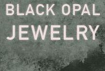 Black Opal Jewelry