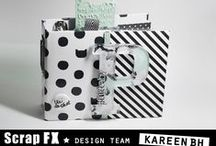 Mini Album By KareenBH / www.kareenbrochuharvey.blogspot.ca