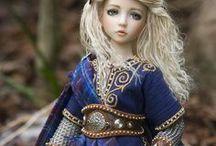 dolls by Martha Boers (Antique Lilac)