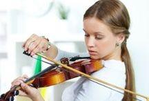 My Violin & Music Theory Board