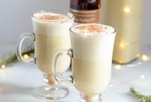 Christmas Drinks / Christmas, holiday, winter beverage recipes from hot chocolates to peppermint milkshakes, cranberry, eggnog, you name it!