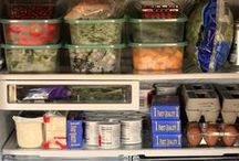 • ORGANIZANDO A GELADEIRA / Organizaçao de geladeira