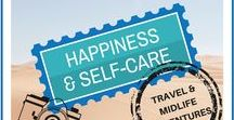 Happiness and Self-Care / Interesting posts and quotes about maintaining happiness! www.debs-world.com