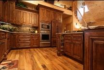Rustic Home / http://www.walker-woodworking.com