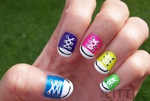 Nail polish,designs,colors and diy nails  / by Jocelyne-Joyce W Ensign