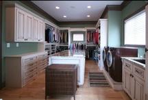 Closets / Closet ideas for your home. Let us help you organize your space. #closet #ideas
