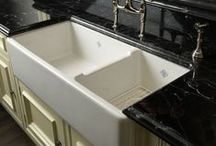 Sinks / Kitchen Sinks you will love! Visit our site for more kitchen inspiration http://www.walker-woodworking.com/