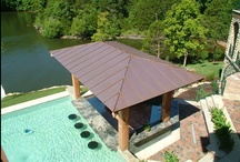Pools with outdoor kitchens