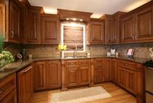 Small Kitchens / A kitchen can be beautiful no matter what size!