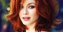 Icon - Christina Hendricks / Mad Icon legend amongst her other cast mates