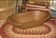 Antique Wooden Bowls / by Francine Edwards