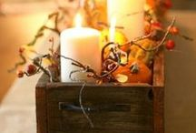 Fall Decorations / Get inspired!