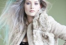 TESSA ♥s FAUX FUR / It's all about being hugable, beige, warm wool, faux fur and fashionable.....