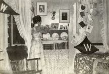 studenti acum 100 de ani / imagini din camine