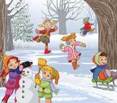 Thema winter kleuters / Winter theme preschool / Hiver thème maternelle / Thema winter kleuters / Winter theme preschool / Hiver thème maternelle