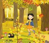 Thema herfst kleuters / Theme autumn preschool / Automne maternelle, bricolage / Thema herfst kleuters / Theme autumn preschool / Automne maternelle, bricolage