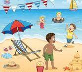 Thema zomer kleuters / Theme summer preschool / Thema zomer kleuters / Theme summer preschool