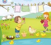 Thema lente kleuters / Theme spring preschool / Thema lente kleuters / Theme spring preschool