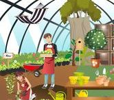 Thema tuincentrum kleuters / Theme garden center preschool / Garden Center maternelle / Thema tuincentrum kleuters lessen en knutselwerkjes / theme garden center preschool lessons and crafts / Garden center maternelle
