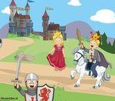 Thema ridders en kastelen kleuters / Preschool theme knights / Chevaliers et Châteaux maternelle / Thema voor kleuters ridders, kastelen, jonkvrouw / preschool theme toddlers, knights, castles / Chevaliers et Châteaux maternelle