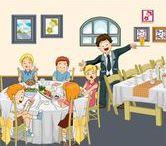 Thema restaurant kleuters / Theme restaurant preschool / Thema restaurant kleuters, lessen en knutselwerkjes / Theme restaurant preschool, lessons and crafts