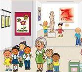 Thema kunst voor kleuters / Art theme preschool / Thema kunst voor kleuters lessen en knutsels / Art theme preschool, lessons and crafts/ Maternelle bricolage