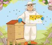 Thema bijen kleuters / Theme bees preschool / Thema bijen lessen en knutsels voor kleuters / Theme bees preschool lesson an d crafts