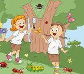 Thema insecten en kriebelbeestjes voor kleuters / Insect and creepy critters theme for Kindergarten / Thema insecten en kriebelbeestjes voor kleuters / Insect and creepy critters theme for Kindergarten