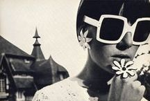 60s Style / A salute to the sartorial elements of women's fashion of the 60s - Swinging 60s, Mod, Hippie, Boho and even a bit of Mad Men appreciation