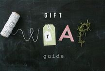 Gifts / Gift ideas, including wrapping and cards.