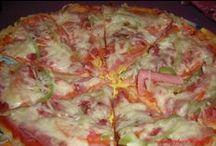 pizza,langoše a livance
