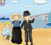 Thema Zeeland kleuters / Preschool theme Zeeland (NL) / Thema Zeeland kleuters lessen en knutsels / Preschool theme Zeeland (NL)