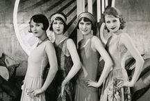 20s Style / Saluting women's style of the 20s - Roaring 20s, Flappers, Art Deco, Prohibition, Orientalism, Bright Young Things