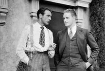 Vintage Men's Style / A big applause to all of the dapper, stylish vintage gents out there