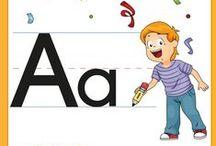 abc voor kleuters, Kindergarten abc, abc Maternelle / abc voor kleuters, lessen en werkbladen bij de letters, Kindergarten abc, letter lessons, abc Maternelle