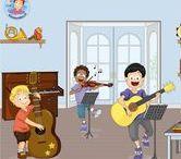 Thema muziek voor kleuters, Kindergarten music theme, maternelle / Thema muziek voor kleuters, Kindergarten music theme, maternelle