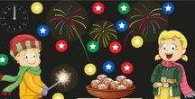 Thema oud en nieuw jaar kleuters / New Year theme kindergarten / Thema oud en nieuw jaar kleuters, lessen en knutselen bij de jaarwisseling / New Year theme kindergarten and preschool, lessons and crafts