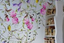 Home Interior - Wallpaper / Inspiration of Wallpaper and wall paint