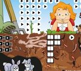 Thema dieren onder de grond voor kleuters, lessen en knutsels / Kindergarten Underground animals / Thema dieren onder de grond voor kleuters, lessen en knutsels / Kindergarten and preschool underground animals  lessons and crafts.