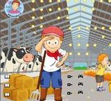 Thema 'de koe' kleuters / Cow theme preschool / la vache thème maternelle / Thema 'de koe' kleuters / Cow theme preschool / la vache thème maternelle