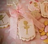 Ballerina baby shower / Ballerina baby shower royal icing cookies, cupcakes, chocolate covered Oreos
