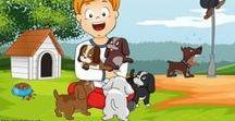 Thema de hond / Thema de hond voor kleuters, Kindergarten dog theme