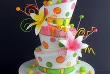 cakes i'll never make / these cakes are work of art. i wish i had the talent and patience to create. / by sue winn