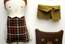 pillows,dolls & crafts / by Florena Castellar