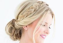 Uptini / A collection of beautiful updos for any occasion (wedding, prom, homecoming, or a night out)!