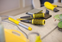 The Hard Stuff / Drybar's line of professional hair styling tools (including Buttercup, our signature yellow blowdryer). Get tips, read reviews, and learn more about our blowdryer, flat iron, hair clips, & curling irons!