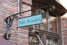 """PikkuPutiikit -myymälä / PikkuPutiikit-shop / """"Handmade Finnish Design""""  PikkuPutiikit, Kehräsaari, Tampere, Finland www.pikkuputiikit.fi"""