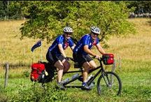 Cyclotourisme / On vient de loin pour faire le Col du Tourmalet et la route du Tour de France dans les Pyrénées. Elle fait partie des must qui font de Midi-Pyrénées une région où le cyclotourisme est roi. Cependant, le plaisir du vélo en Midi-Pyrénées se savoure partout dans la région. Flâner au fil du Canal des Deux Mers, sillonner la vallée du Lot, partir sur les routes du Tarn : de jolis villages en sites historiques, Midi-Pyrénées vous propose un choix royal d'itinéraires vélo.   / by Tourisme Midi-Pyrénées