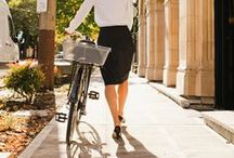 Iva Jean Fashion / Apparel from our Seattle, WA produced line of bike clothes for women.