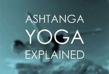 Ashtanga Yoga / Get Radiant With The Origins of Vinyasa Yoga / by Radiantly Alive Yoga